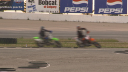 HD2009-6-12-19 motocross bike race Stock Video Footage