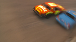 HD2009-6-12-21 stock car race Stock Video Footage