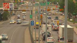 HD2009-6-17-9 traffic 16th ave TL LL Stock Video Footage