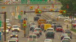 HD2009-6-17-11 traffic 16th ave TL LL Stock Video Footage