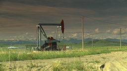 HD2009-6-19-13 pumpjack Footage