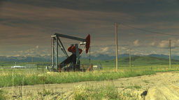 HD2009-6-19-13 pumpjack Stock Video Footage