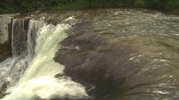 HD2009-6-20-7 Lundbreck falls pan Stock Video Footage
