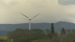 HD2009-6-20-15 single wind turbine Footage