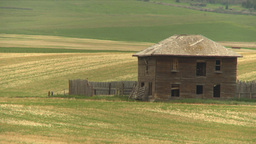 HD2009-6-20-51b abandoned farm Stock Video Footage