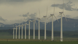 HD2009-6-20-53 wind turbines Footage