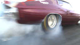 HD2009-6-21-9 chev burnout into smoke Stock Video Footage