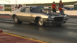 HD2009-6-21-19 street ET race Stock Video Footage