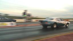 HD2009-6-21-21 street ET race z Stock Video Footage