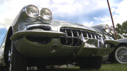 HD2009-6-22-9 1962 Corvette montage Stock Video Footage