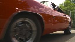 HD2009-6-22-11 Dodge daytona Stock Video Footage