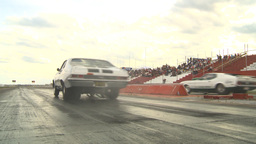 HD2009-6-22-21 motorsports, drag racing silver nova launch Stock Video Footage