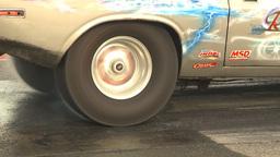 HD2009-6-22-33 motorsports, drag racing burnout slomo Footage