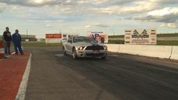 HD2009-6-22-36 motorsports, drag racing twin-turbo... Stock Video Footage