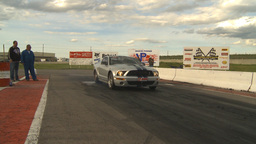 HD2009-6-22-36 motorsports, drag racing twin-turbo... Stock Video Footage