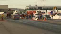 HD2009-6-22-38 motorsports, drag racing nostalgia funny... Stock Video Footage