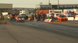 HD2009-6-22-40 motorsports, drag racing nostalgia funny... Stock Video Footage