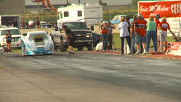 HD2009-6-22-46 motorsports, drag racing Top alcohol funny... Stock Video Footage