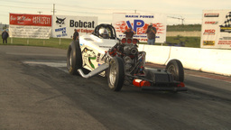 HD2009-6-22-50 motorsports, drag racing alcohol altered... Stock Video Footage