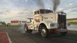 HD2009-6-22-52 motorsports, drag racing Smokin gun diesel truck burnout Footage