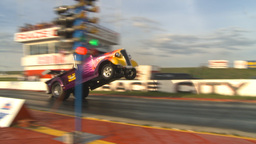 HD2009-6-22-54 motorsports, drag racing Smokin wheelstander 37 Dodge launch Footage