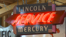 HD2009-6-23-14 Lincoln mercury service Stock Video Footage
