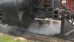 HD2009-6-23-18 old steam train montage Footage