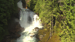 HD2009-6-22-14 crazy creek water fal Stock Video Footage