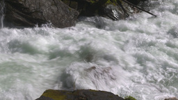 HD2009-6-22-18 wild river overhead Stock Video Footage