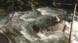 HD2009-6-22-22 wild river overhead Footage