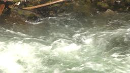 HD2009-6-22-24 wild river overhead Z Stock Video Footage