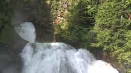 HD2009-6-22-26 crazy creek waterfall Stock Video Footage