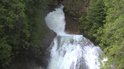 HD2009-6-22-38 crazy creek waterfall Stock Video Footage