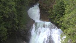 HD2009-6-22-38 crazy creek waterfall Stock Video Footage