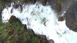 HD2009-6-22-40 VERTICAL wild river overhead Stock Video Footage