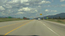 HD2009-6-26-1 TL Highway97 drive Stock Video Footage