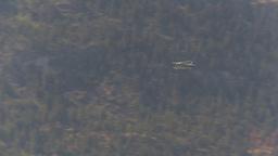 HD2009-6-26-9 float plane in flight Stock Video Footage