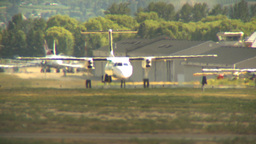 HD2009-6-26-16 Dash8 taxi LLL Footage