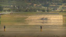 HD2009-6-26-18 Dash8 takeoff LLL Stock Video Footage