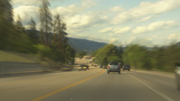 HD2009-6-26-22 long drive hwy 97 TL Stock Video Footage