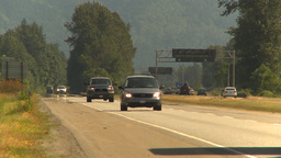 HD2009-6-27-10 highway traffic Stock Video Footage