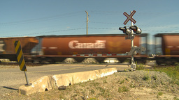 HD2009-6-27-14 freight train Stock Video Footage