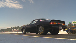 HD2009-6-27-20 motorsports, drag racing prostreet launch Stock Video Footage