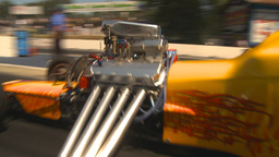 HD2009-6-27-22 motorsports, drag racing altered burnout Footage