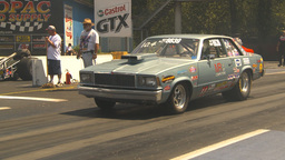 HD2009-6-27-26 motorsports, drag racing race launch Stock Video Footage
