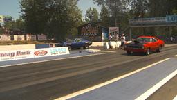 HD2009-6-27-28 motorsports, drag racing dodge race Stock Video Footage