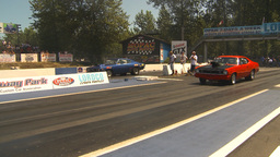 HD2009-6-27-28 motorsports, drag racing dodge race Stock Video Footage