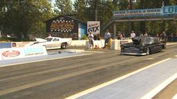 HD2009-6-27-30 motorsports, drag racing promod chey race Stock Video Footage