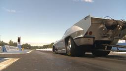 HD2009-6-27-32 motorsports, drag racing promod corvette... Stock Video Footage
