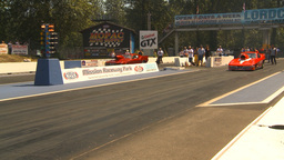 HD2009-6-27-34 motorsports, drag racing promod corvette mustang launch Footage